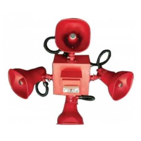 Wheelock Red Cluster Speakers Strobe STH-3R24MCCH-NR