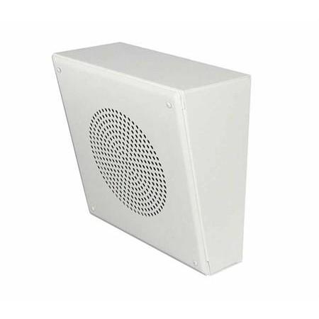 Quam  Speaker System, 25/70V Slanted Wall Mount Vandal-resistant
