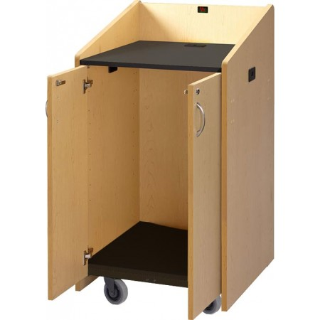 Mobile Lectern - Flat Top
