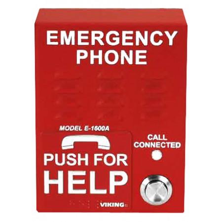 Emergency Call Box Phone - Red
