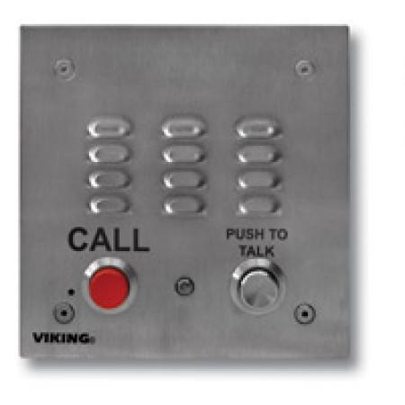Push to Talk Call Box for Noisy Environments