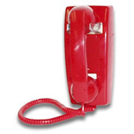 Viking Analog Wall Mount Dial-less Phone K-1500P-W