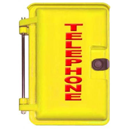 Yellow Outdoor Weather Proof Phone Enclosures