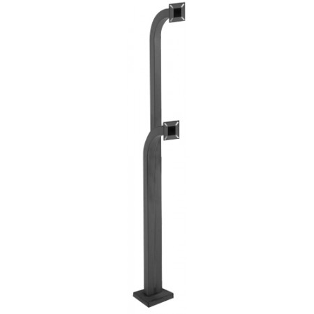 Viking Outdoor Dual Gooseneck Pedestal for VE Series Phones