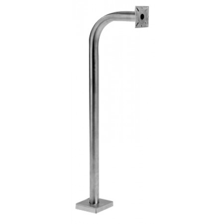 Stainless Steel Gooseneck Pedestal for Emergency Phones and Call Boxes