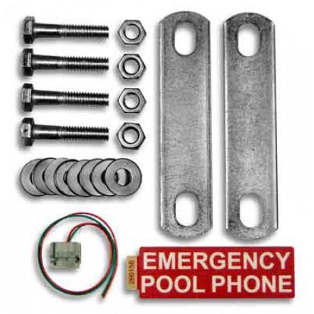 Emergency Pool Phone Mounting Kit