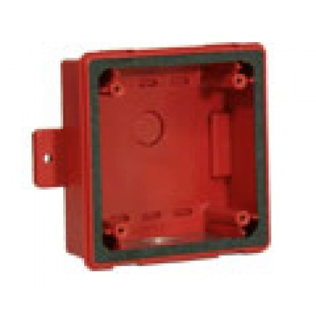 Red Backbox for RSSWP Series