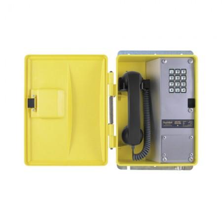 Weatherproof Telephone with Metal Keypad