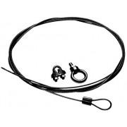 10-foot Cable Kit - Black For Bogen Hanging Pendant Speaker