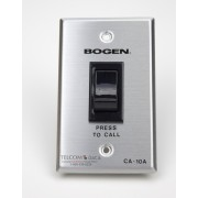 School Paging System Call-In Switch w/ SCR latch circuit