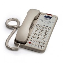 Teledex Opal 2006S OPL78149 Two Line Hotel Phone