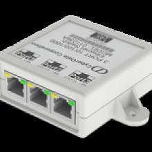 Cyberdata 2 Port POE Splitter Switch