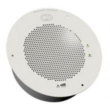 VoIP Singlewire Ceiling Speaker for InformaCast Emergency Notification (White)