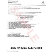 Polycom HDX Expanded I/O software option - 5150-26126-001