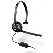 Plantronics hands-free headset with adjustable vol. & mute switch (M214C) (69056-11)