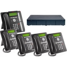 Avaya IP Office Phone Systems with 4 Lines 6 Phones and Voice Mail
