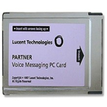Partner ACS Voice Messaging PC (PCMCIA) Card with 4 Voice Mailboxes and Auto Attendant