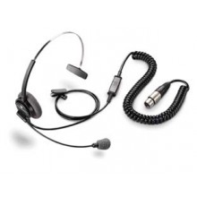 plantronics Supra Monaural Headset for Intercom System
