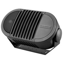 A6TBLK Weatherproof Loud Outdoor Speaker (Black) A6-Series 70V by Bogen Communications
