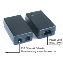 PoE Power Supply & Cables Kit for Clear One