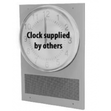 Quam Wall Mount 25/70V Clock Baffle with Speaker