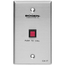 CA17 Push to Talk Call Switch for Class Room Intercom System with Momentary Closure by Bogen Electronics