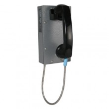 Industrial Correctional Ring Down Telephone with Armored Cord