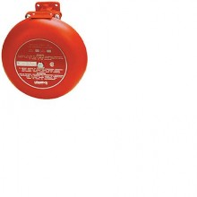 Red Indoor Single Stroke 24VDC Explosion Proof Bell | CSX10-24-R