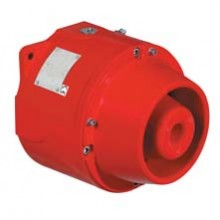 Explosion Proof Horn Multitone, 100dBA, 24 VDC, Red finish | DB1HPULA024D1D2NNNR