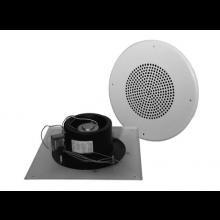 Quam Paging Horn Speaker 25/70V on Round Vandal Resistant Baffle