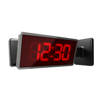 "School Digital IP Clock 2.5"", 4 Digit Red"