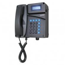 Industrial Desktop/Wall Mount Telephone with Curly Cord