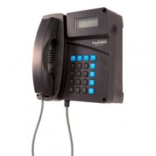 Industrial Desktop/Wall Mount Telephone with Armored Cord
