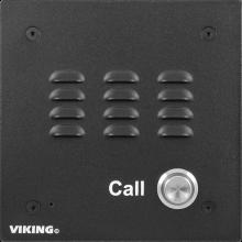 E-10A Phone Intercom System Aluminum (Black Finish) by Viking Electronics