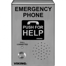 Viking Stainless Steel Voip Emergency Phone E-1600-03-IP