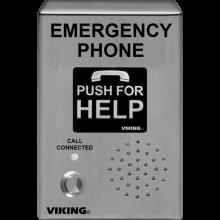 Outdoor emergency phone - VIK-E-1600-03B-EWP