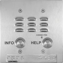 Viking Double Box VoIP Emergency Phone E-1600-22-IP