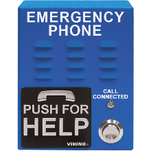 Viking Blue VoIP Emergency Phone E-1600-65-IP