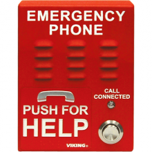 Viking Red VoIP Emergency Phone E-1600-IP