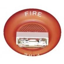 Red E60 Speaker Strobe 115/177 | E60-24MCCH-FR