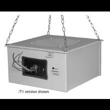 Quam Sound Masking Speaker 'Quiet Steel' 70V (Color Coded Leads)