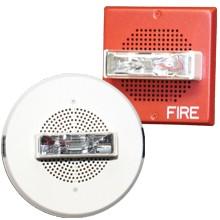 White E70H Series High Fidelity Wall Mount Speaker Strobe 15/30/75/110 | E70H-24MCW-FW