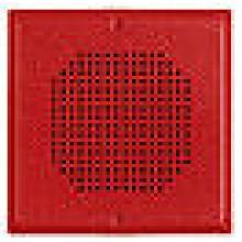 Wheelock Red Wall/Ceiling Mount E90 Series Speaker E90-R