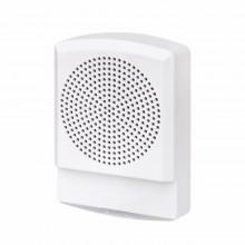 ELSPKW-N ELUXA White High Fidelity Fire Speaker 25V / 70V (No Lettering) by EATON