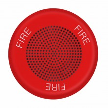 ELSPKRC ELUXA Ceiling High Fidelity Fire Speaker 25V / 70V by EATON