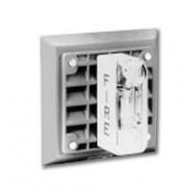 Wheelock Wall Mount Series ET-1080 Speaker Strobe, White , Strobe Candela of 30