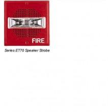 White Wall Mount ET70 Series Speaker Strobe 15/30/75/110 | ET70-24MCW-FW