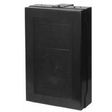 Quam In Wall Speaker System 8-Ohm (Black, MicroPerf grille)