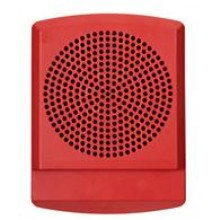 LED High Fidelity Speaker Red No Lettering
