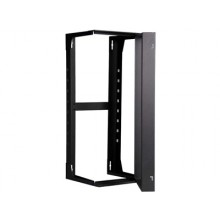 "12U Wall Mount Swing Rack 24""D  